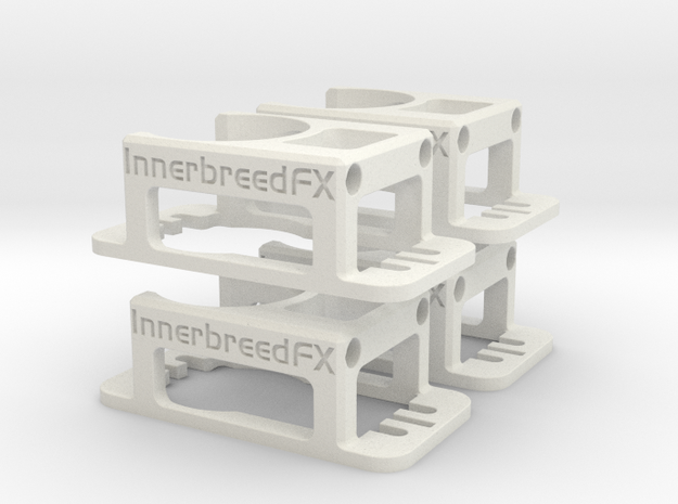 Innerbreed PullPull 24mm Casing v1.3 (4Pack) in White Strong & Flexible