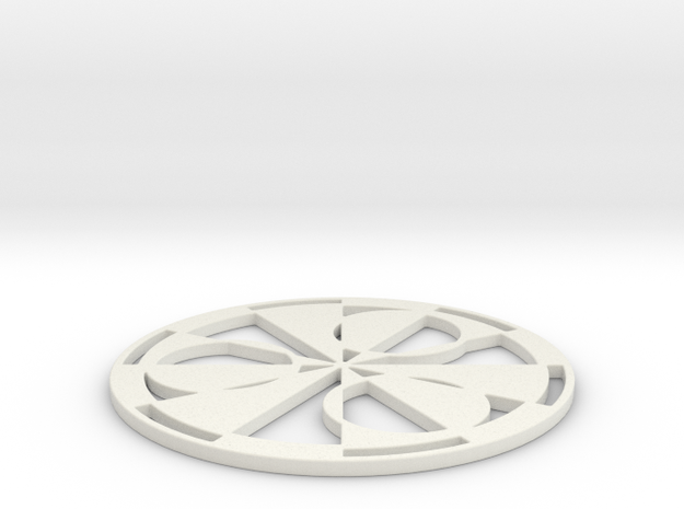 Stonehenge 2011 Crop Circle 3d printed