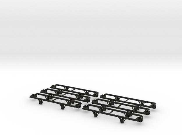 55n9 13ft 4 wheeled Underframes  - 6 pack 3d printed