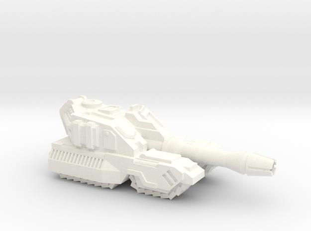 Botcon 2011 Galvatron Rumbler in White Processed Versatile Plastic