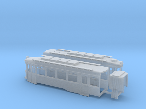 Chassis Harkortwagen  in Smooth Fine Detail Plastic