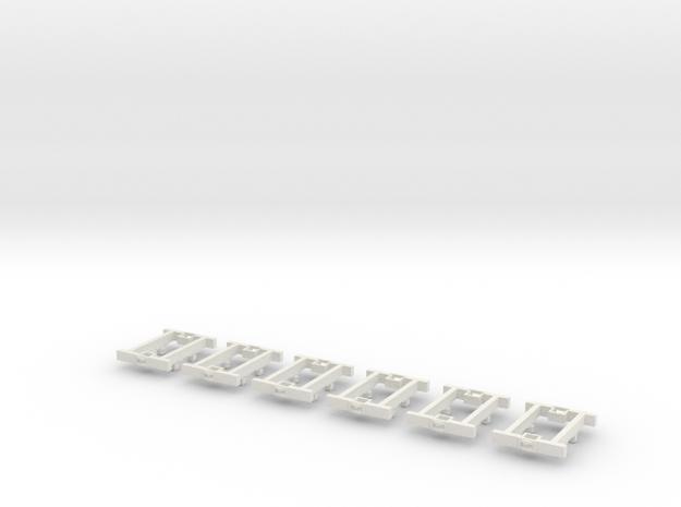 O9 4w Underframe (short) x6 3d printed