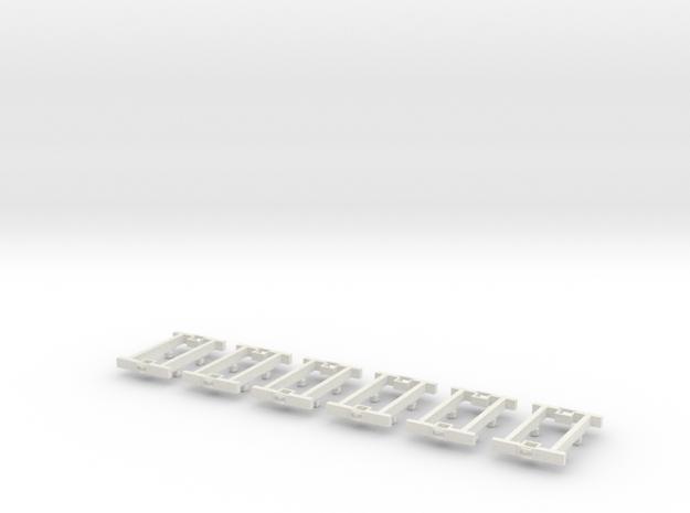 O9 4w Underframe (medium) x6 3d printed