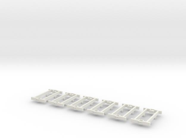 O9 4w Underframe (long) x6 3d printed