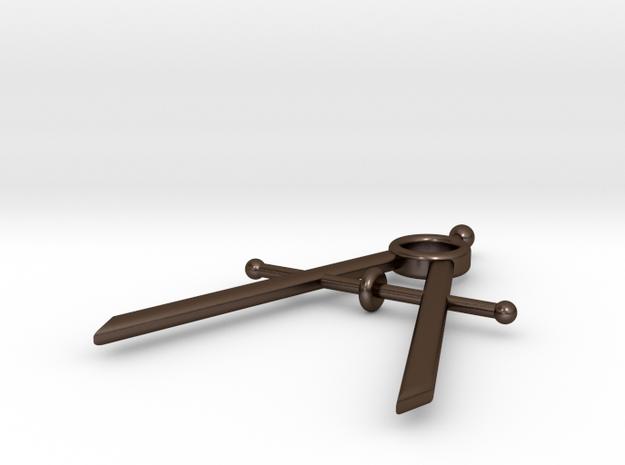 Mini Drafting Compass Pendant 3d printed