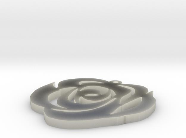 rose ver 2 in Transparent Acrylic
