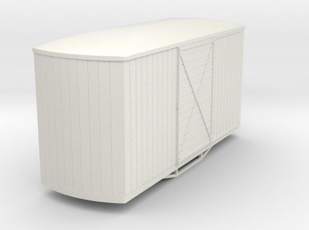 55n9 bogie box car round end 3d printed