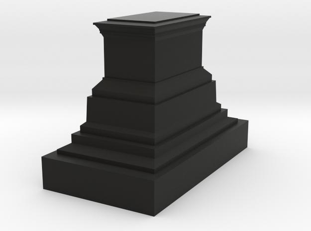 1/160 monument pedestal 3d printed