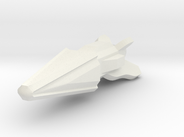 Pointy Ship 3d printed