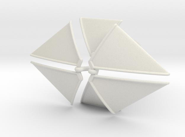 Organian Space Sailship 3d printed