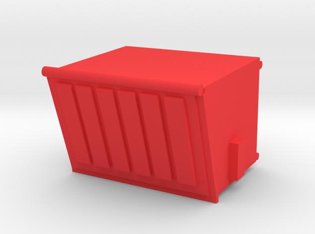 Dumpster 4yd Slanted HO 1/87 Scale 3d printed