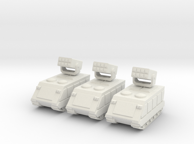 15mm Stormwind AFV (x3) in White Natural Versatile Plastic