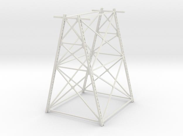 Trestle - 60foot - Zscale in White Natural Versatile Plastic