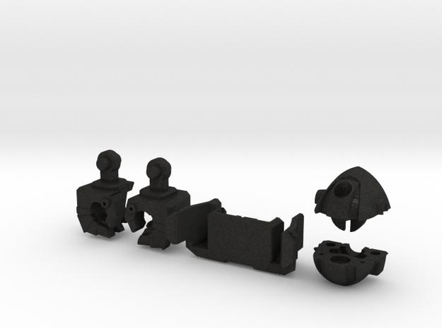 Wrecker Ironfist Kit - Bullet Hole in Black Acrylic