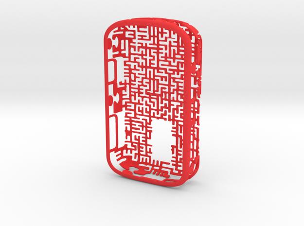 BlackBerry 9000 Maze Case 3d printed
