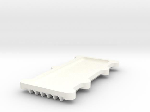 CamCovPat in White Processed Versatile Plastic