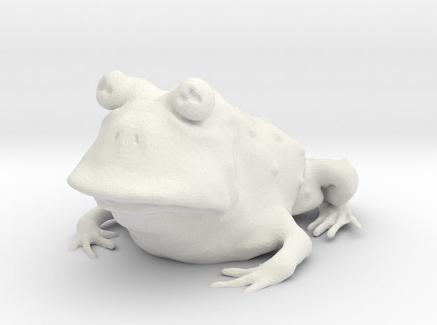 Hypnotoad in White Strong & Flexible