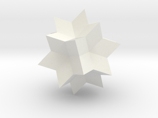 Wolfram|Alpha Spikey in White Strong & Flexible