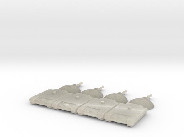 Wrecker Heavy Tank in White Acrylic