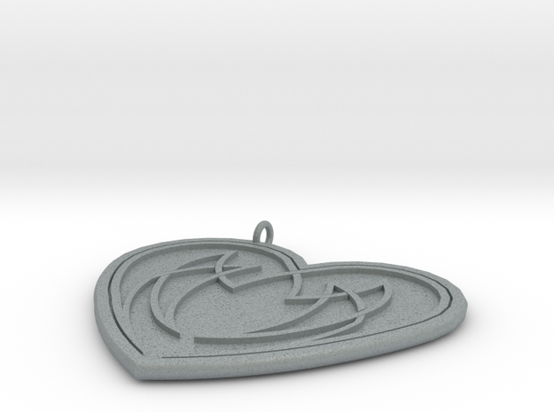 Heart Knot 3d printed