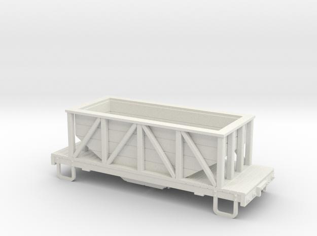 On30 17ft 2-truck wood hopper 3d printed