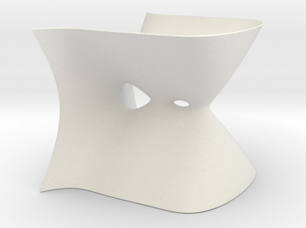 Deformation of an A4 Singularity in White Natural Versatile Plastic