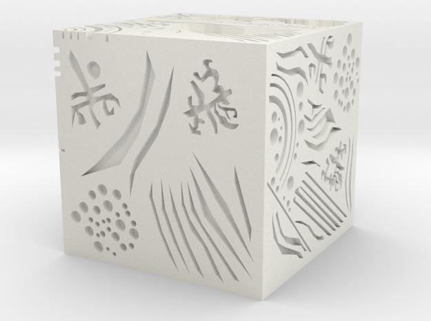 allspark in White Natural Versatile Plastic