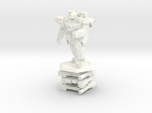 WHAM- King Sandman and Weapons (1/160th) 3d printed