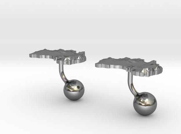 Australia Terrain Cufflink - Ball (2x) 3d printed