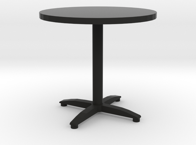 round bistro table 3d printed