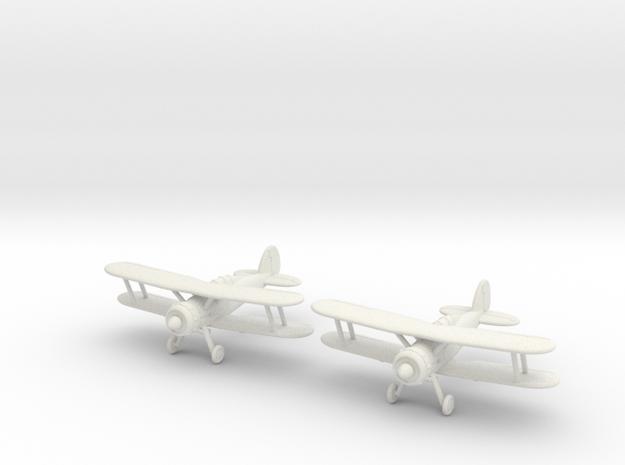 1/200 Gloster Gladiator Mk.I (x2) 3d printed