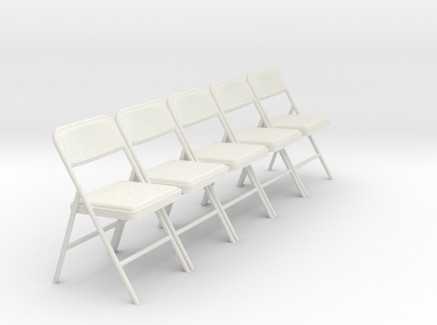 1:24 SCALE Folding Chairs (NOT FULL SIZE)