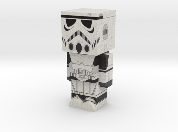 Stormtrooper (Star Wars) in Full Color Sandstone
