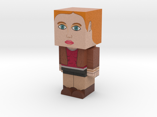 Amy Pond (Doctor Who) 3d printed