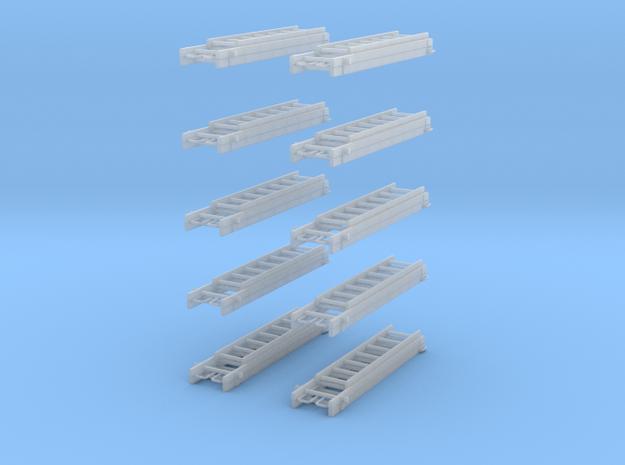 Multifunktionsleiter 10x  in Smooth Fine Detail Plastic