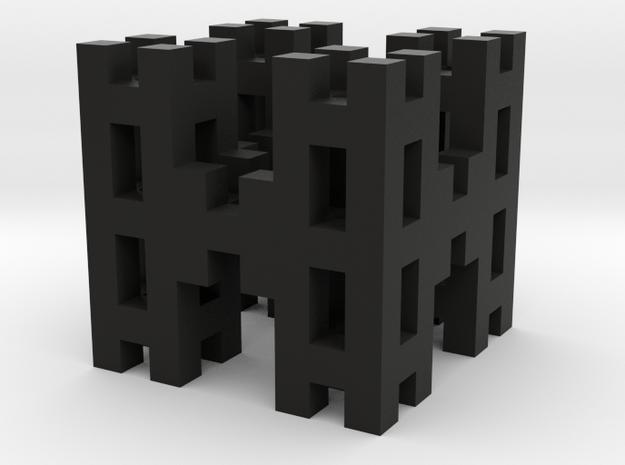 "Menger ""H"" Level 2 3d printed"