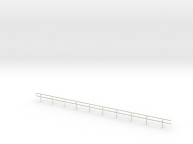 N-Scale Wood Guard Rail 3d printed
