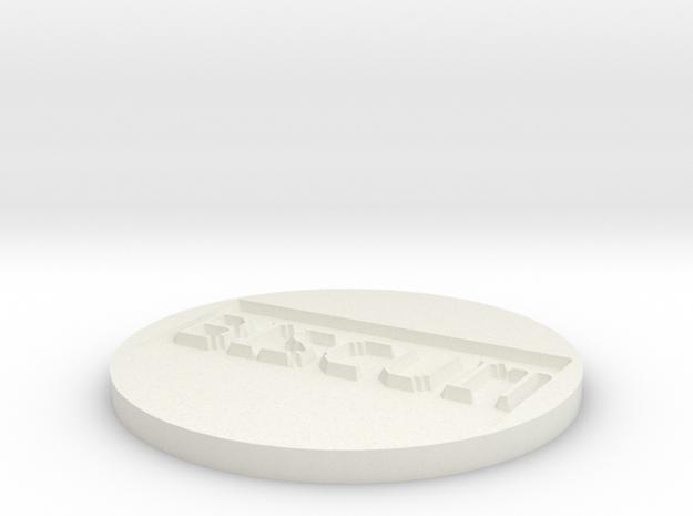 by kelecrea, engraved: BISCUIT 3d printed