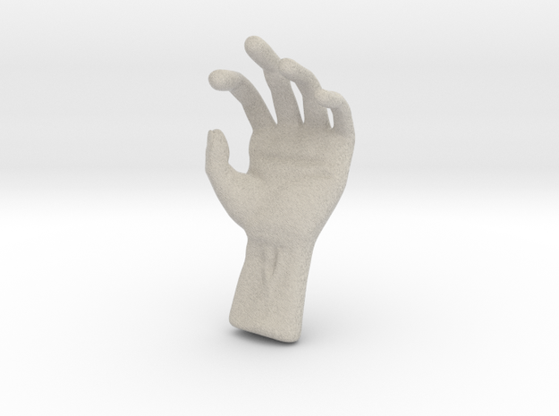 Hand 3d printed