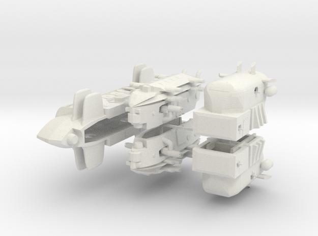 Japanese Fleet (5 ships) 6mm 3d printed