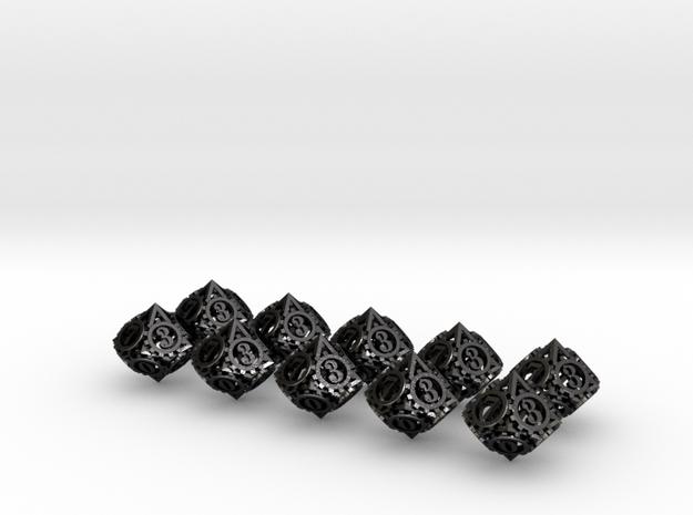 Steampunk Gear 10d10 Set 3d printed