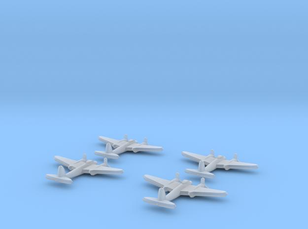 Mosquito FB Mk VI 1:900 x4 3d printed
