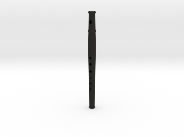 Folk flute, soprano, tapered bore 3d printed