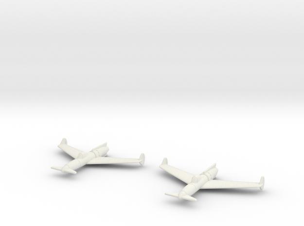 1/200 Curtiss P-55J Jet Ascender (x2) 3d printed