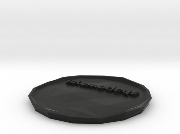 SHAPEWAYS PLATE variant 4 3d printed