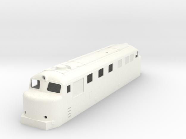Hr12 TT (1:120) in White Processed Versatile Plastic