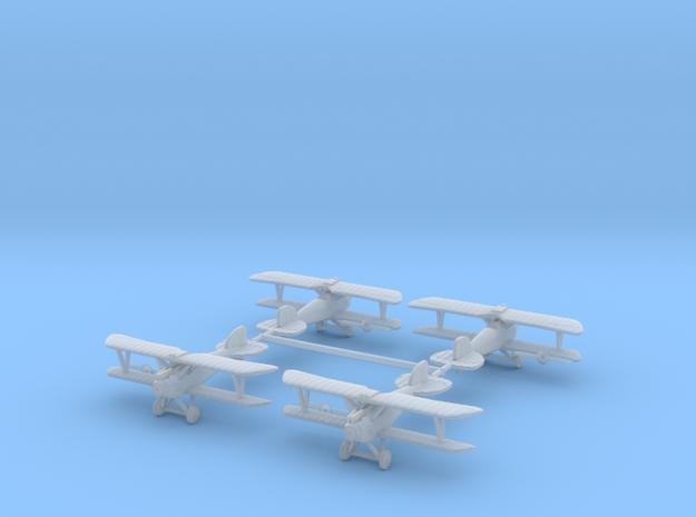 1/288th Albatros D.III set of 4 3d printed