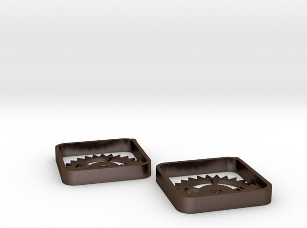 Settings Earrings 3d printed
