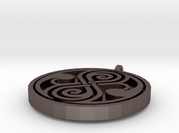 Rassilon pendant 3d printed