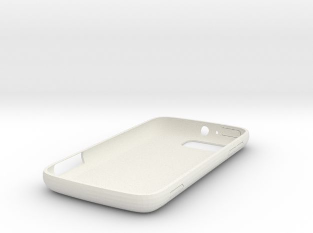 atrix 2 case in White Natural Versatile Plastic